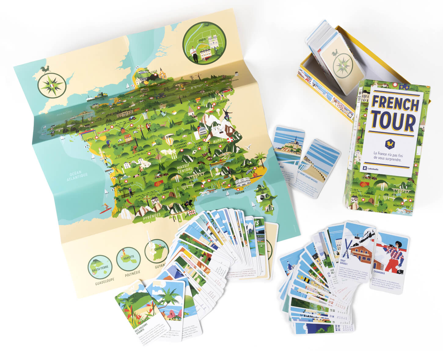 French Tour - Board games