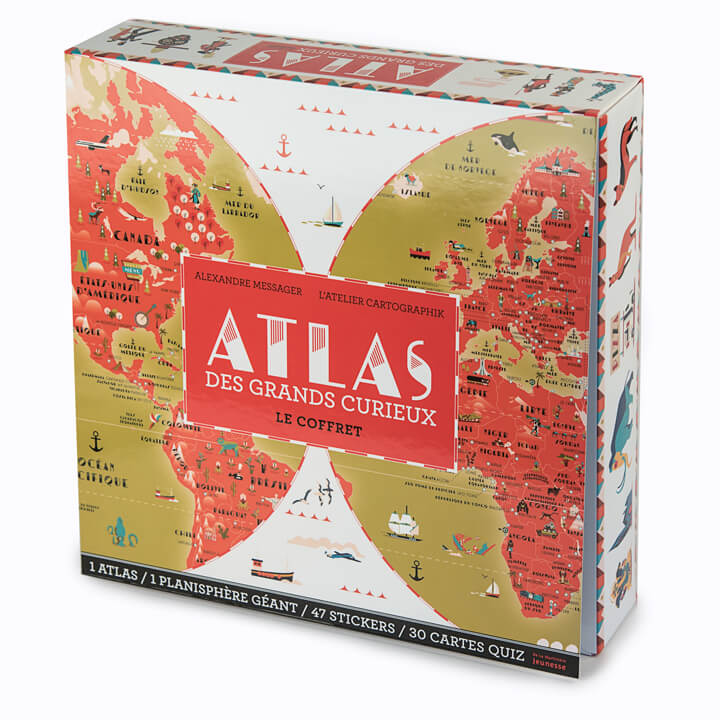 Atlas des grands curieux - Children Atlas