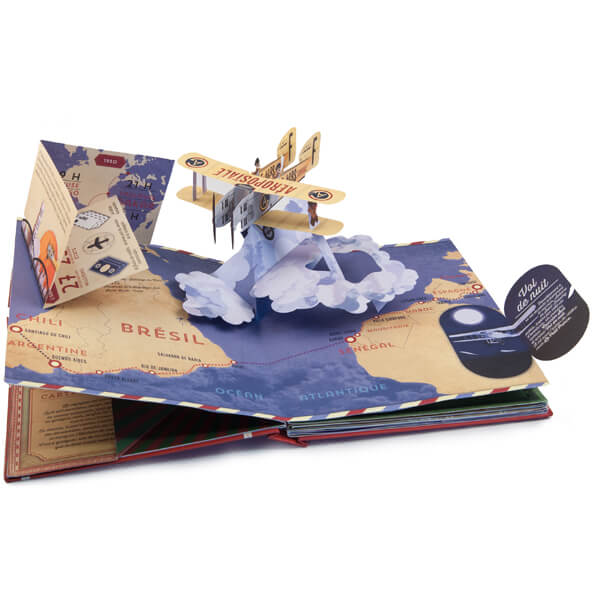 Legendary routes of the world- Pop up book